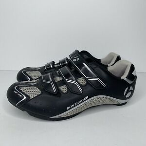 Bontrager Cycling Shoes Womens Size 10.5 Inform Black/Silver/Pink