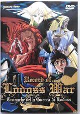 Dvd Record of Lodoss War - Cronache della guerra - Memorial box 2 dischi Usato