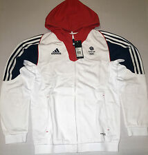 Olympic Team GB Hooded Sweat Jacket Rio 2016 ATHLETE ISSUE BNWT S 36/38 UK 12