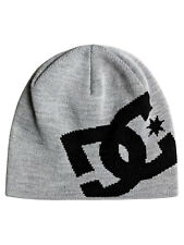 DC SHOES MENS BEANIE HAT.NEW BIG STAR GREY WOOLLY ACRYLIC KNITTE CAP 7W 812 KNFH
