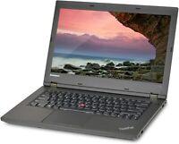 "Lenovo ThinkPad L440 14.0"" Laptop Intel i5-4210M 16GB RAM 128GB SSD WiFi DVDRW"