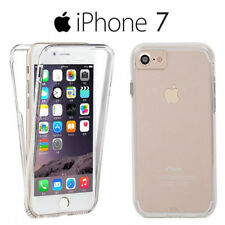 Funda Proteccion 360º Gel TPU Hibrida Transparente para iPhone 7