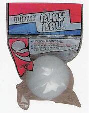 12 Baseball Plastic Wiffle® Balls WITHOUT HOLES