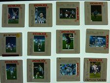 Lot of 12x 35mm Italian Football Slides Inter Juventus 1996 Zinedine Zidane SP3