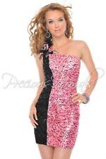 NWT PINK PRECIOUS FORMALS sz10 SHORT FORMAL PROM DRESS HOMECOMING #P55138 $350