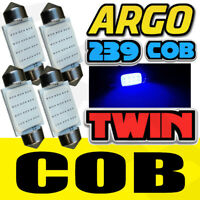4 LED 38MM 239 272 C5W ICE BLUE INTERIOR LIGHT NUMBER PLATE FESTOON BULBS TWIN