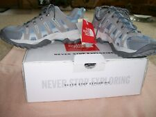 NIB!  THE NORTH FACE ATHLETIC SHOES-PROPHECY-FOIL GREY/BLUE TIDE-SIZE 8 1/2 US