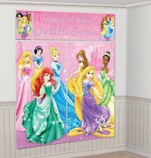 Disney Princess Sparkle 5 Pcs Scene Setter