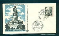 Germany #918 (Mi 463) 1965 von Bismark unaddressed cachet FDC