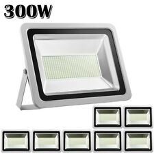 8 X 300W LED Flood Light Cool White Outdoor Garden Landscape Industry Spot Lamp