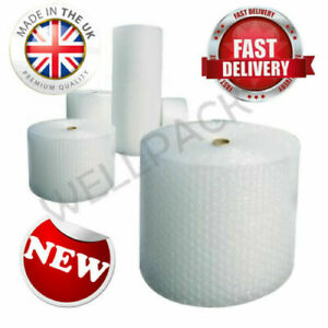 SMALL BUBBLE WRAP HIGH QUALITY ROLLS - 300mm /500mm / 750mm +Free Delivery