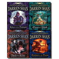 Darren Shan Series Collection - The Saga of Larten Crepsley 4 Books Set-Brand NW