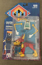 New Sealed Irwin Reboot Frisket & Cecil Figure #30058 1996 Red
