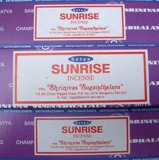 Satya Sai Baba Sunrise Nag Champa 100G Grams Incense Sticks FAST FREE SHIP