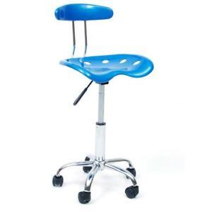 sedia poltrona girevole Nice blu bleu arredo casa ufficio con ruote