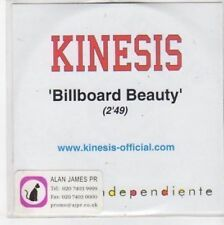 (BQ637) Kinesis, Billboard Beauty - DJ CD
