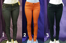NEW WOMEN ENCORE COLOR SKINNY JEANS