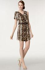 Just Cavalli Animal Print Silk Dress (  usa 6- eu 44)
