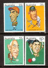 AUSTRALIA 1981 Sports Caricatures set MUH