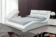 Waterbed Bed Complete Leather Bed Upholstered Bed with Mattress New Oliver Beds