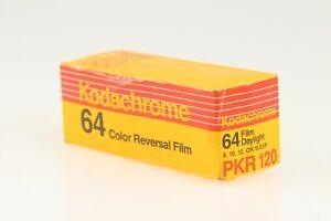 1 Unopened Box Kodak Kodachrome 64 Medium Format 120 K-14 Slide Film EXP 08/1989