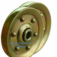 Garage Door Pulley Pully - 3 Inch - Heavy Duty Sheave Pulley - 2 PACK