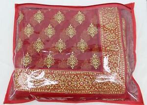 Sari Saree Cover Bag Sari Packaging Storage Pouch Opaque Plastic Coated Zip