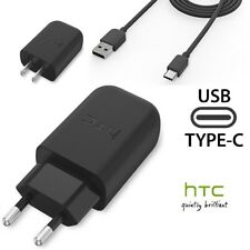 Original HTC Fast Quick 3.0 Wall Charger TC-P5000&Type-C Cable For 10 U11 Ultra