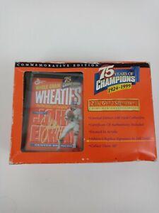 75th Anniversary Commemorative Edition Mini Wheaties Collectible Box John Elway