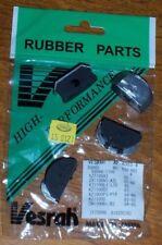81-05 Kawasaki KZ1000 J K CSR Police Valve Cover Cam End Rubber Plugs Seals (4)