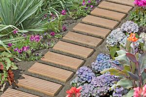 Rollweg für den Garten aus Lärche Rollweg 35x250