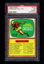 1966 Topps  #132 Checklist  PSA 5 MC