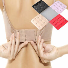 10pcs Women Bra Extender Extension Strapless Underwear Strap 3 Hooks 3 Rows