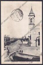 NOVARA CASALINO 26 CAMERIANO - CAMPANILE Cartolina VIAGGIATA 1928