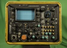 Oscilloscope HP AN/USM-338 - HP 1707B Opt 300 - 50 Mhz Dual Trace Rugged Works!