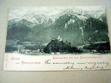 VERY OLD PPC: HOHENASCHAU~KAMPENWANDGEBIRGE~ca.1903~UNDIVIDED~BAVARIAN STAMPS
