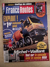 France Routes n° 262 Avec poster SCANIA LONGLINE. Essai DAF CF 85 430 AS TRONIC
