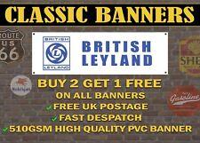 Classic British Leyland Tractor Banner for Garage  / Retro Sign /