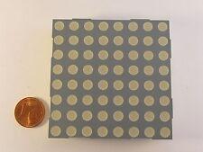 """58,34mm (2,3"""") 8x8 Dot Matrix Display TC23-12EGWA, rot/grün, gem. Kathode"""