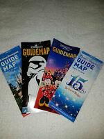 Tokyo, Hong Kong and Shanghai Disneyland and Tokyo DisneySEA English Guidemaps