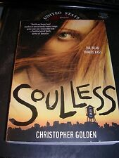 Soulless by Christopher Golden (2008, Paperback)  Zombie Horror