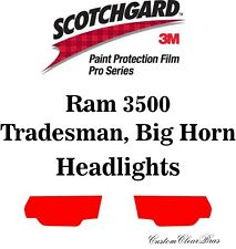 3M Scotchgard Paint Protection Film Pro Series Clear Kit 2019 2020 Ram 3500