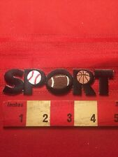 SPORT - Athlete Fitness Jacket Patch - Basketball Baseball Football 69I
