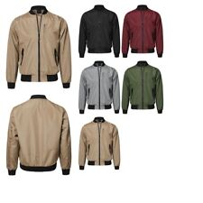 FashionOutfit Men's Casual Tactical Basic Long Sleeves Bomber Jacket