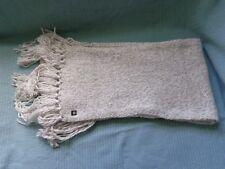 BENCH women's cream scarf NEW