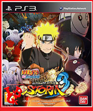 NARUTO SHIPPUDEN Ultimate Ninja Storm 3 PS3 Playstation 3 Jeu Video Manga