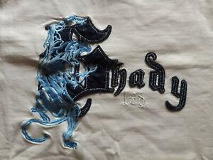 Shady Ltd. Herren T-Shirt Größe L weiß bestickt Off. Lizensiertes Produkt Eminem