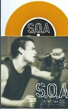 SOA w/Henry Rollins GOLD vinyl Dischord DC punk EP, 1980 demo first time issued