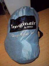 AERO BED 10 MINUTE SLEEP AWAY IMAGINAIR CHILD TODDLER 3'x5' OD 2'x4' ID BACKPACK