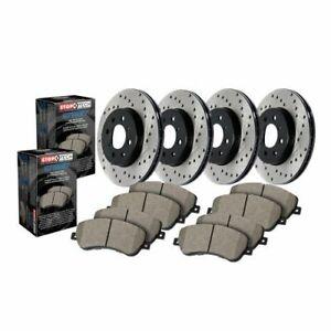 Stop Tech 936.40069 Street Axle Pack Drilled Brake Kit For 00-09 Honda S2000 NEW